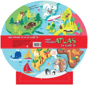 Atlas Globe 3D