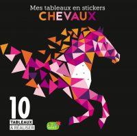 Mes tableaux en stickers – Chevaux