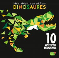 Mes tableaux en stickers – Dinosaures