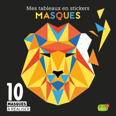Mes tableaux en stickers  – Masques