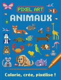 Couv. Pixel Art Animaux