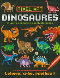 Couv. Pixel Art Dinosaures