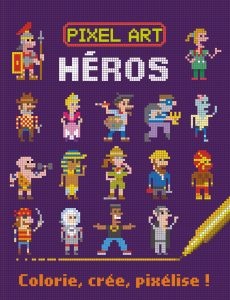 Couv Pixel Art Héros