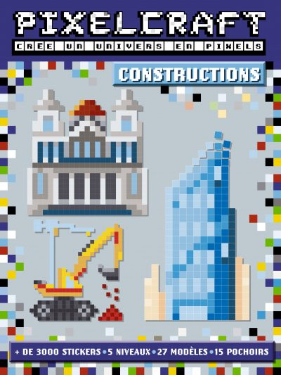 Couv Pixel Craft construction
