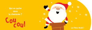 Page intérieure ouverte Coucou Noel
