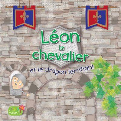 Couverture Léon le chevalier et le dragon terrifiant