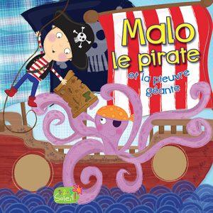 Couverture Malo le pirate et le pieuvre