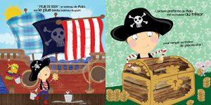 Page intérieure Malo le pirate et la pieuvre géante