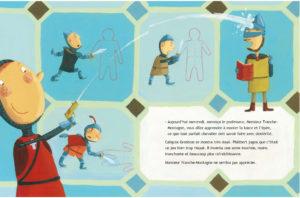 Page intérieure Comment devenir un parfait chevalier