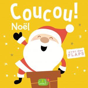 Couverture Coucou c'est qui ? Noël