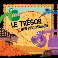 Couverture Le trésor des peltosaures