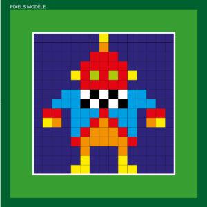 Pixel - monstres