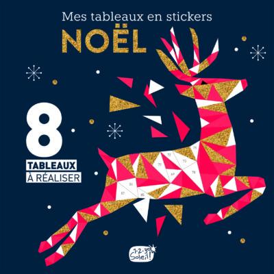 Couv tableaux stickers Noël
