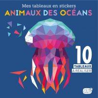 Couverture Mes tableaux en stickers Animaux des océans