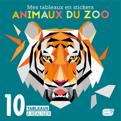 Couv. tableaux stickers Zoo