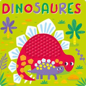Livre silicone - dinosaures