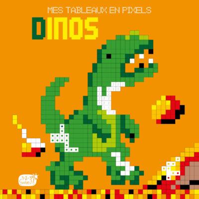 Mes tableaux en pixels – Dinosaures