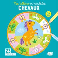 Couv. Tableaux Mandalas Chevaux