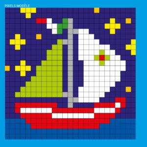 Modèle Pixel Bord-de-mer