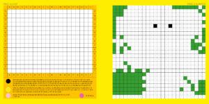 Dble page Pixel Super Héros
