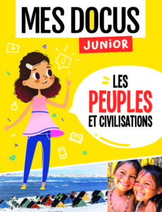 Couv. Mes docus junior Les peuples et civilisations