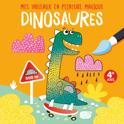 Mes Tableaux en peinture magique – Dinosaures