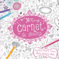 Carnet de dessin filles