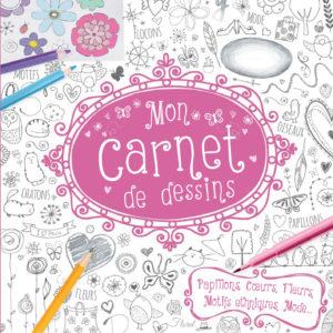 Carnet de dessins filles