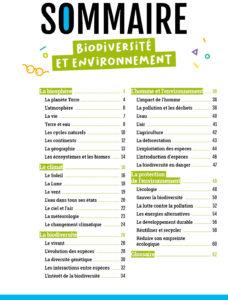 Mes docus junior - biodiversité et environnement