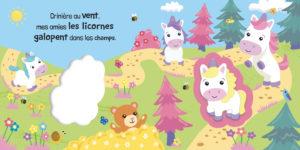 Mon livre squishy licornes