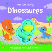 Mon livre squishy dinosaures