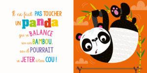 Il ne faut pas toucher un panda