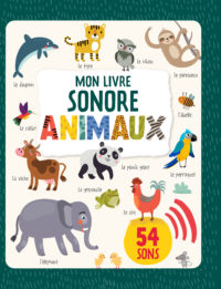 Livre sonore animaux