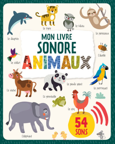 Livre sonore animaux