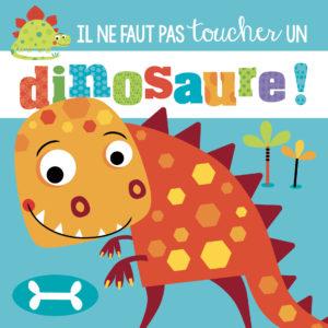 Coffret il ne faut pas toucher un dinosaure