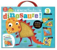 Il ne faut pas toucher un dinosaure – coffret puzzle