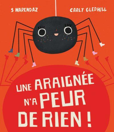 L'araignée n'a peur de rien