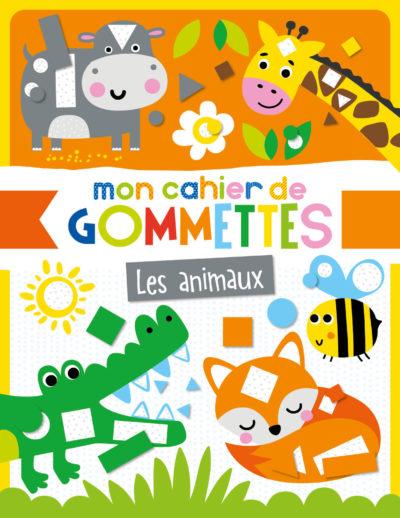 Mon cahier de gommettes - animaux