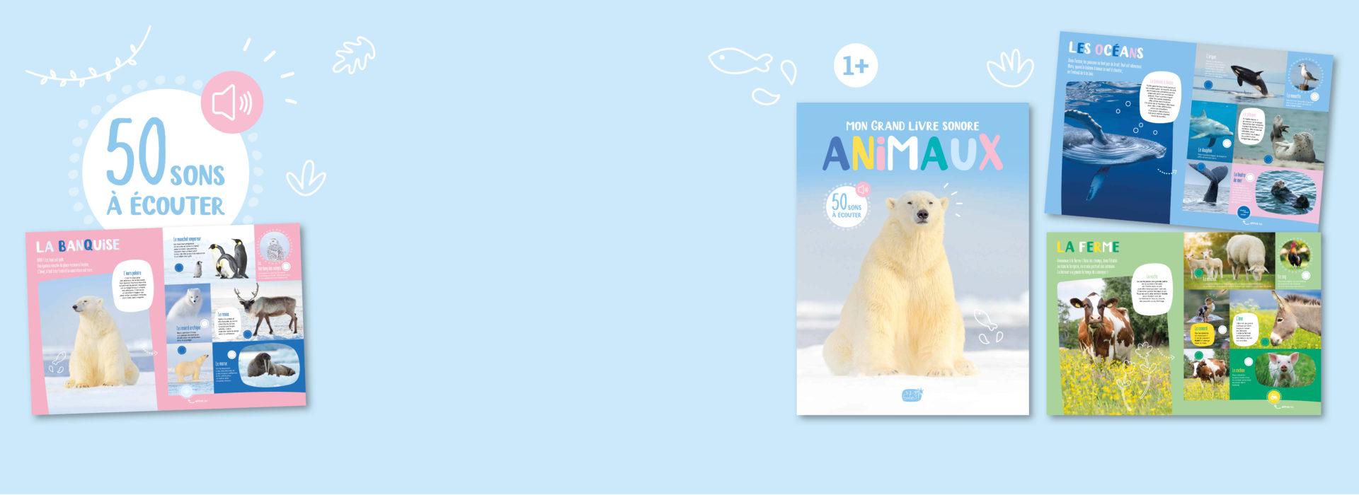 Mon grand livre sonore des animaux - slide