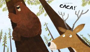 Est-ce qu'un ours fait caca dans les bois ?