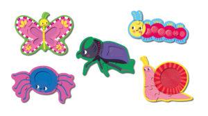 Mes premiers puzzles à toucher - Petites bêtes