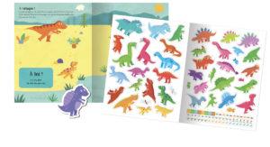 Mes stickers en feutrine - Dinosaures