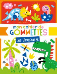 Mon cahier de gommettes - Dinosaures