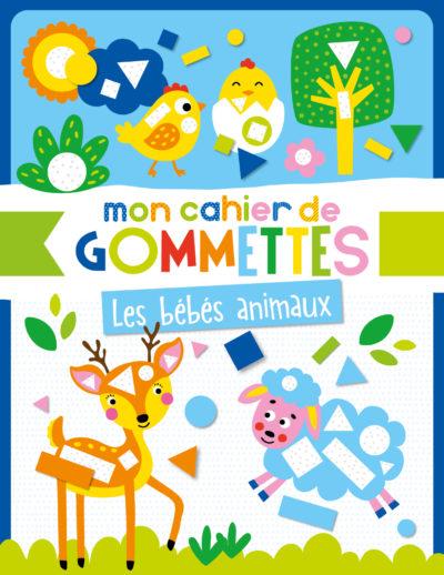 Mon cahier de gommettes - Bébés animaux