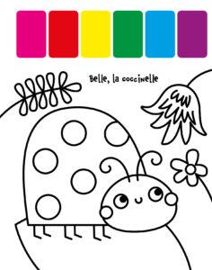 Ma première palette de peinture_petites bêtes
