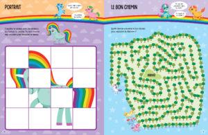 Mes stickers en relief brillants - Licornes