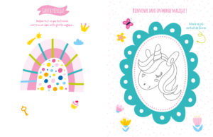 Mon cahier de stickers - Licornes