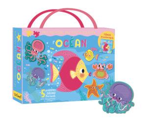 Mes premiers puzzles à toucher - l'océan