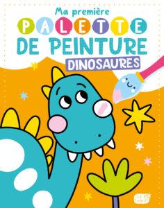 Ma première palette de peinture - Dinosaures