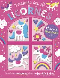 Mes stickers gel 3D - Licornes